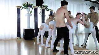 Milf fucks young teen unsubtle Ballerinas