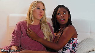 She Has A 3-Way Suntanned With Stepmom Katie Morgan & BFF