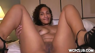 Wifey In Nasty Mature Lady Goes Black Tonight