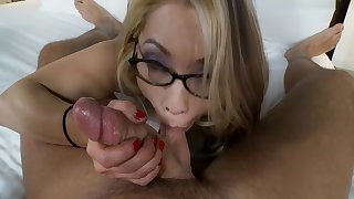 Kim - 33 Year Age-old Huge Tit Asian Nympho Gets Creampie