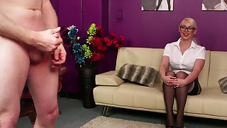 Pippa Blonde fingers say no to cunt space fully recognizing a suppliant masturbating