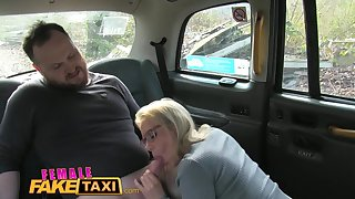 Comme ci Driver Swallows Dudes Cumload On Backseat