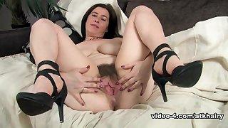 Fabulous pornstar in Incredible Brunette, British xxx video