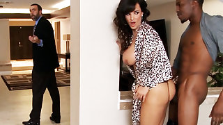 Cheating housewife gets obliterated by a BBC