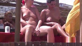 Clumsy Nudist Milfs Footle Voyeur Naked Beach Overhear Cam Ep 2