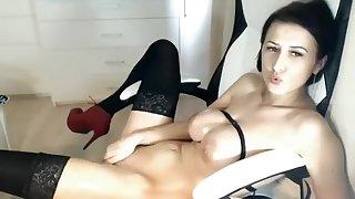 Hot Milf Masturbating On Webcam Part 01