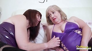 True womanly love and these adult BBWs love sapphic sex