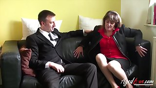 Routine sexual intercourse with mature sprog from wonderful britain